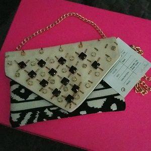 Handbags - Purse with decorative stones